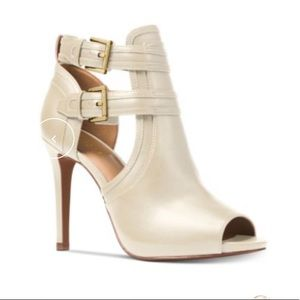 Michael Kors Blaze Toeless Booties